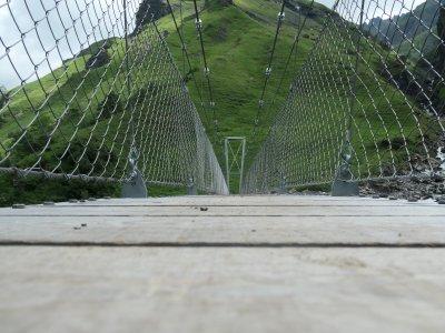 Hängebrücke-Batöni