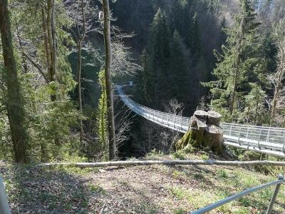 Beatusbrücke-Hängebrücke