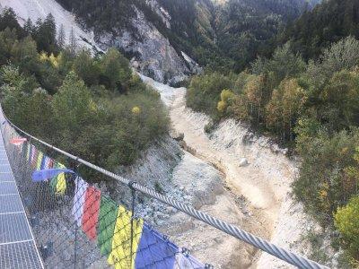 Superhängebrücke-Wallis