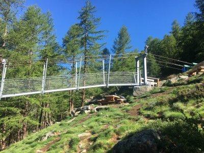 Einstieg auf die längste Brücke der Welt