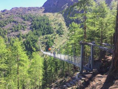 Randa-Hängebrücke