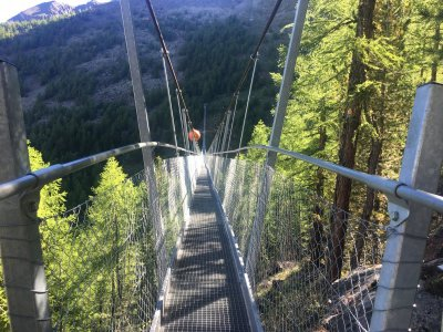 Randa Hängebrücke