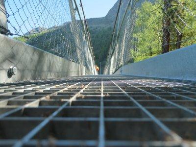 Hängebrücke Randa Zermatt