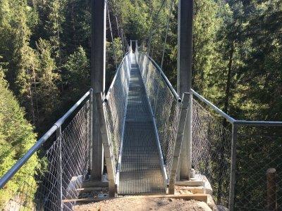 Chessiloch-Hängebrücke