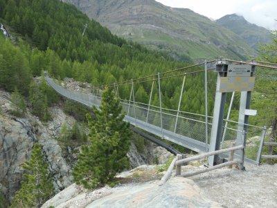 Furi-Hängebrücke-Zermatt