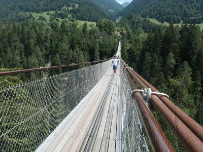 Goms-bridge-Hängebrücke