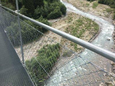 Hängebrücke-Hohstalden