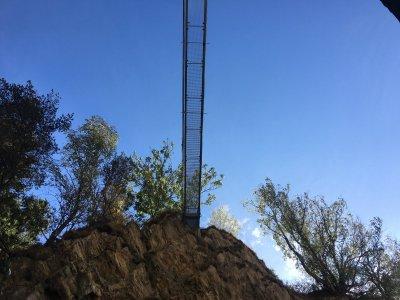 Joli-oder-Niedergesteln-Hängebrücke