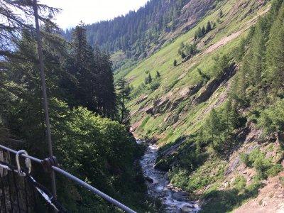Hängebrücke-Nufenenpass