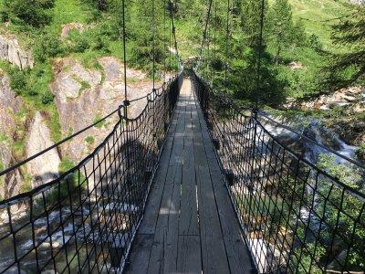 Kitt-Hängebrücke