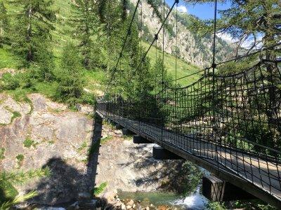 Kittbrücke-Hängebrücke