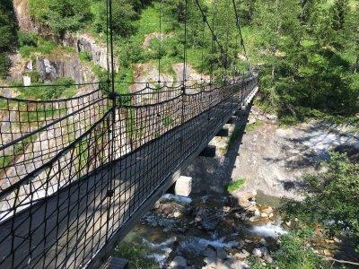 Ulrichen-Hängebrücke