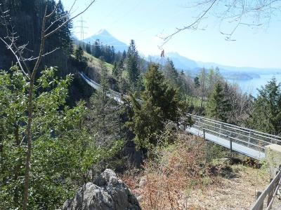 Leissigen-Hängebrücke