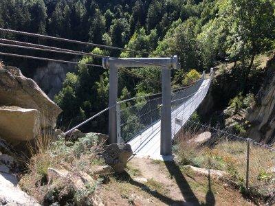 Bitsch-Hängebrücke