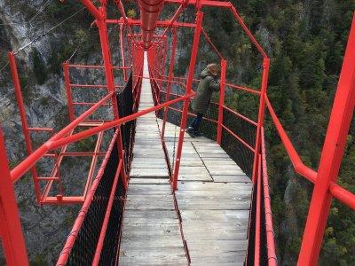 Wallis-Hängebrücke
