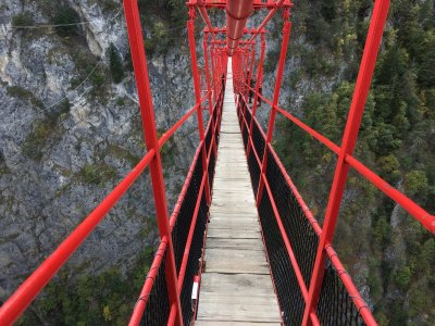 Siders-Hängebrücke