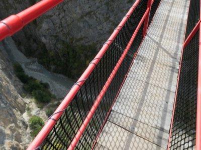 Sierre-Hängebrücke-Niouc