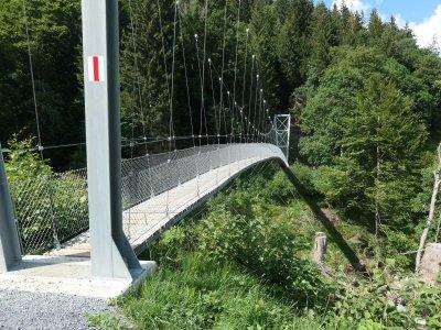 Hängebrücke-Mels-Sargans