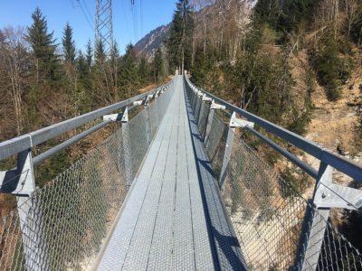Panoramabrücke am Thunersee
