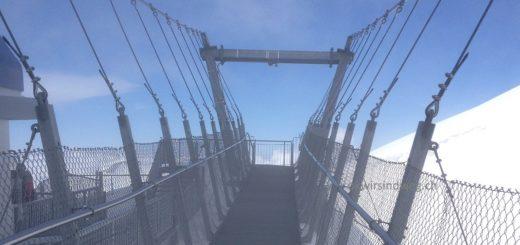 Hängebrücke auf dem Titlis