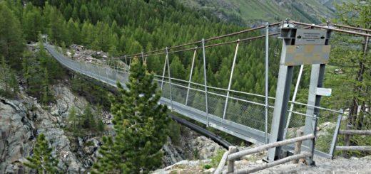 Hängebrücke Furi bei Zermatt