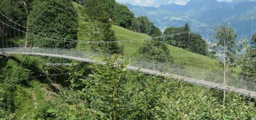 Hängebrücke walserber lochbach